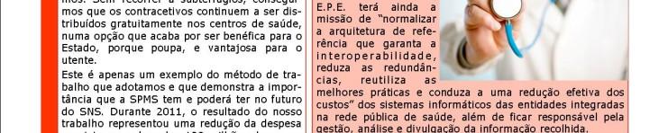Capa Newsletter SPMS Janeiro 2012