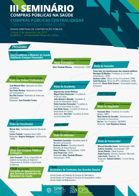 III Seminário de Compras Públicas na Saúde