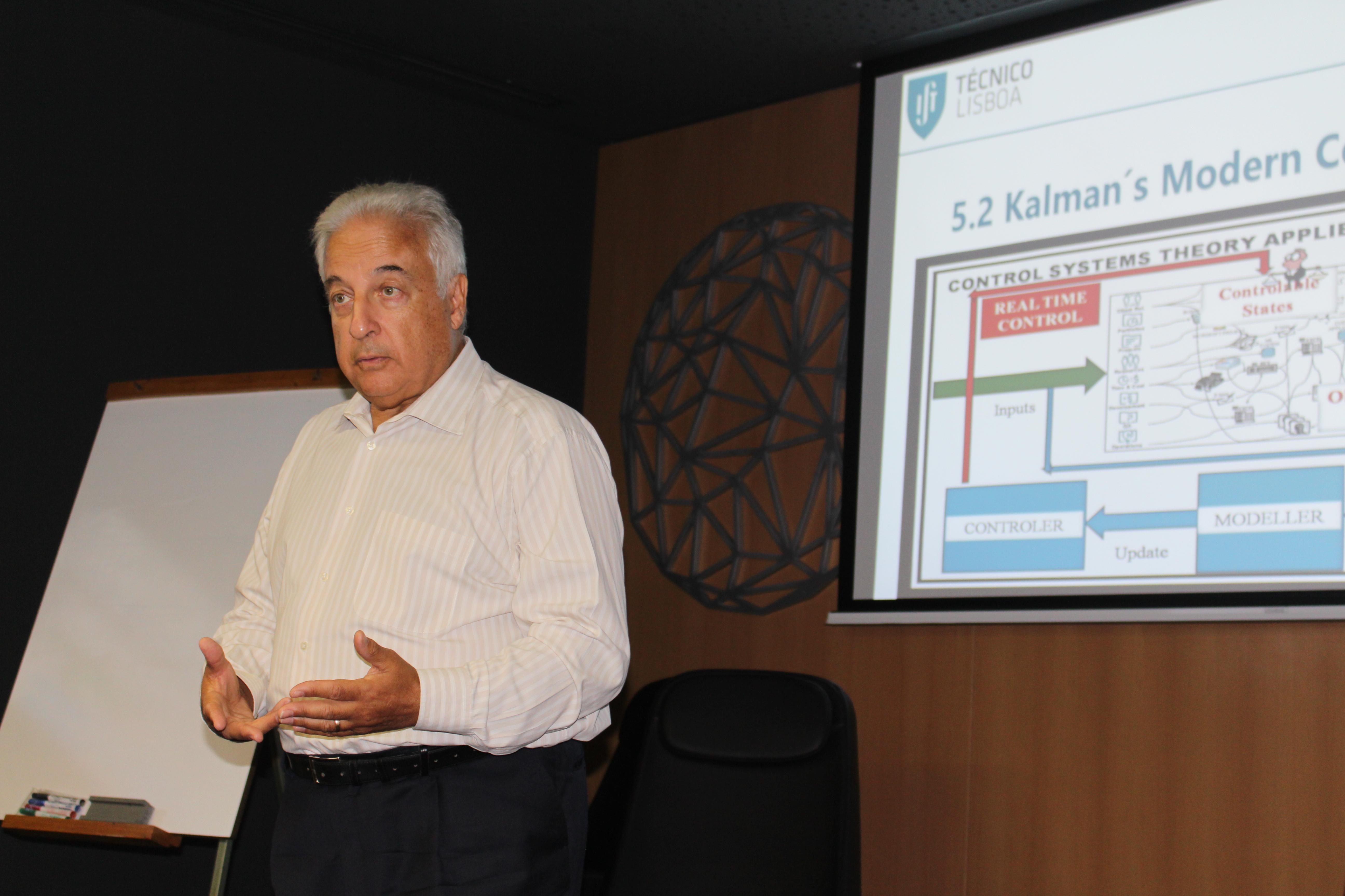 José  Tribolet, professor catedrático do Departamento de Engenharia Informática do IST