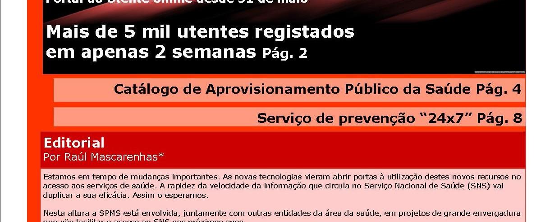 Newsletter SPMS_ Catálogo de Aprovisionamento Junho2012